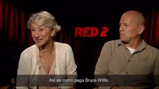 Entrevista Bruce Wilis y Helen Mirren - RED 2