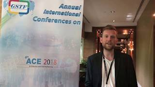 Mr. Anders Hermund at ACE Conference 2018 by GSTF Singapore