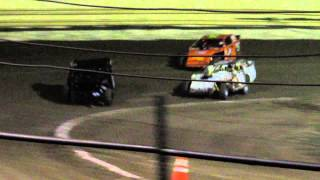 Final Laps of Modified Feature Creek County 8/9/14