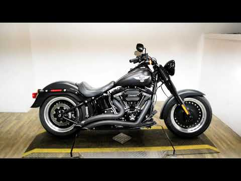 2016 Harley-Davidson Fat Boy® S in Wauconda, Illinois - Video 1