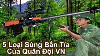 Top 5 Loại Súng Bắn Tỉa Cực Đỉnh Của Quân Đội Việt Nam