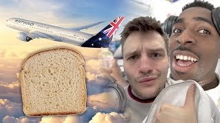 Flying To Australia To Put A Slice Of Bread On The Floor (EARTH SANDWICH)