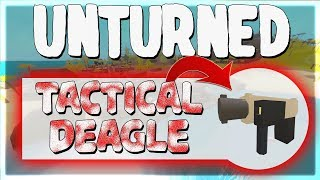 SECRET 'Tactical' Desert Falcon! ~  100% Vanilla Unturned Hawaii Quest