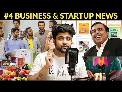 Business News #4 | BigBasket 4H delivery, Myntra tailors, Zomato +225,Reliance E commerce