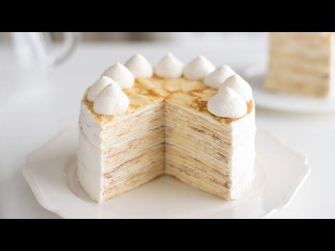 牛奶千層蛋糕的製作方法