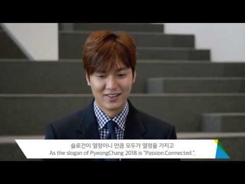 Interview de LEE Min-ho, ambassadeur honoraire de PyeongChang2018