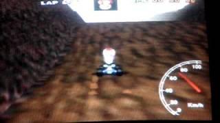 """Mario kart 64 - CM lap - 38"""" 30"""