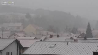 Snežna ploha v Ljutomeru