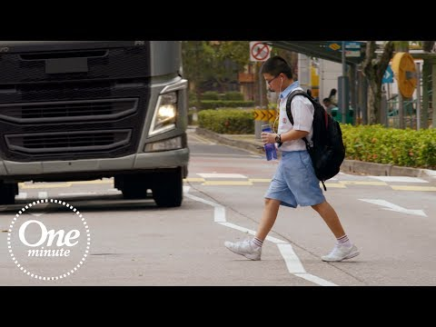 "Volvo Trucks – ""One Minute Stop Look Wave"" mit deutschen Untertiteln"
