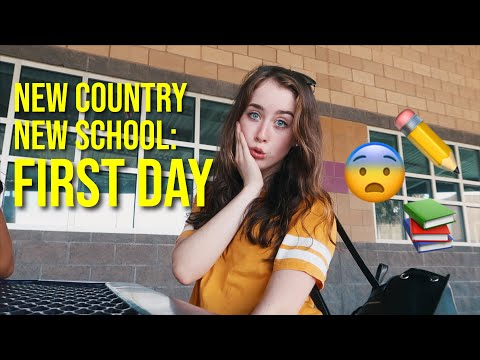 First Day of American High School as an Exchange Student