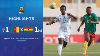CAN U20 2021 | Quart de finale : Cameroun 1 (2) – (4) 1 Ghana