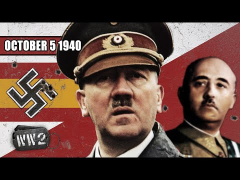 Vstoupí Španělsko do války? - Druhá světová válka