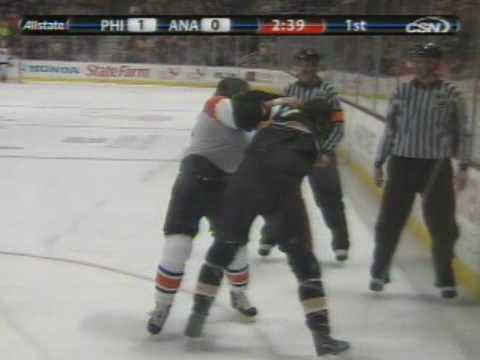 Riley Cote vs George Parros