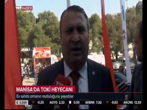 Manisa\'da TOKİ Heyecanı TRT HABER