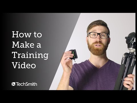 How to Make a Training Video in 2020 - YouTube