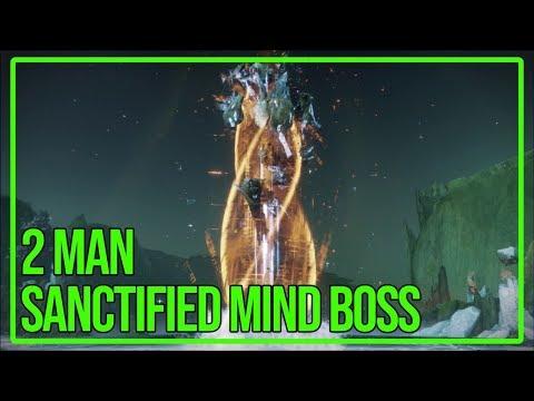 2 Man Sanctified Mind, Sol Inherent - Garden of Salvation Final Boss | Destiny 2