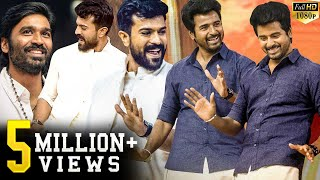 Ram Charan & Sivakarthikeyan's Class & Mass Dance Moves!! Stage lights up!! See the reactions