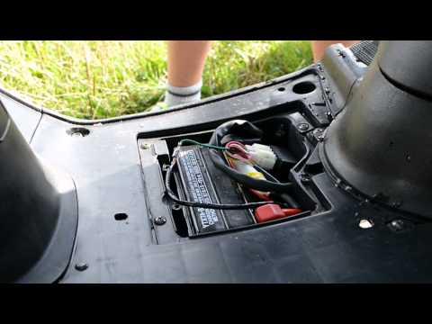 4-Takt Motorroller entdrosseln (Rex zur Vorstellung) [German HD]