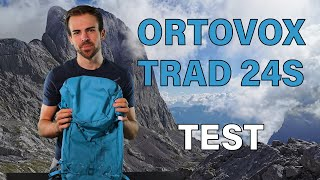 ORTOVOX TRAD 24 S - leichter Rucksack fürs Wandern, Bergsteigen und Klettern! | TEST - REVIEW