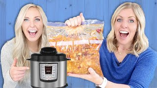 3 EASY Instant Pot Dinners (or Slow Cooker) Freezer Meal Dump And Go Recipes