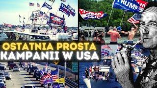 SDZ83/2 Cejrowski o ostatniej prostej kampanii w USA 2020/11/02 Radio WNET