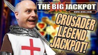 ♞ NEW PLAYED GAME! BONUS ROUND JACKPOT on CRUSADER LEGEND! ♘ | The Big Jackpot