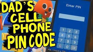 UNLOCK DADS PHONE - CELL PHONE PIN CODE - The Awesome Adventures of Captain Spirit