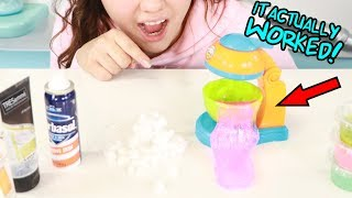MAKING TINY SLIME WITH TINY MIXER! Slimeatory #435