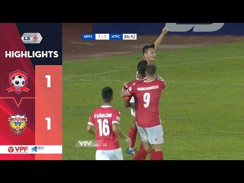 Highlights  Hải Phòng FC - Hồng Lĩnh Hà Tĩnh Vòng 11 LS V.League 1 năm 2020