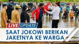 Momen Warga Tana Tidung Dapat Jaket dari Presiden Jokowi, Tak Akan Jual Meski Dihargai Jutaan Rupiah
