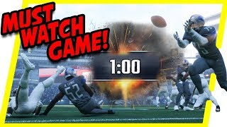 The GREATEST Minute In Madden 18 HISTORY!