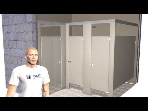 Toilet partitions at best price in india - Bathroom partition installers near me ...