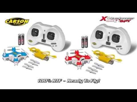 X4 Quadcopter NANO SPY GHz 100% RTF (500507107, 500507108) EN