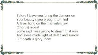 Christian Death - The Angels Cruciform Lyrics
