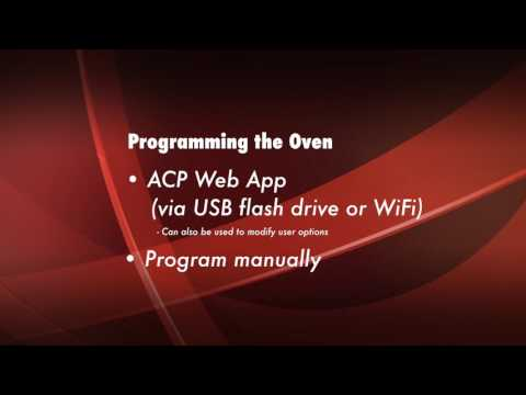 How To Program The AXP Oven Mp3