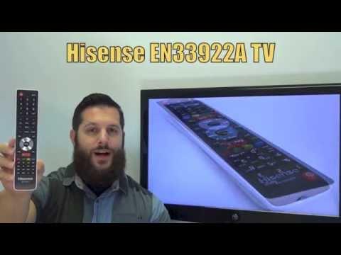 HISENSE EN33922A TV Remote Control