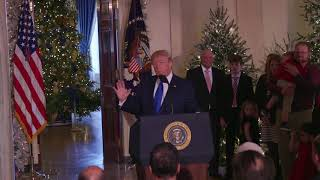 President Trump Delivers Remarks on Tax Reform in the Grand Foyer