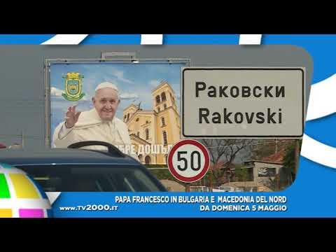 Come seguire il viaggio di papa Francesco in Bulgaria e Macedonia del Nord