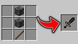 Minecraft : 5 SECRET Crafting Recipies (Ps3/Xbox360/PS4/XboxOne/PE/MCPE)