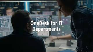 OneDesk for IT Departments