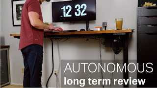 Autonomous DIY Standing Desk Kit Long Term Review