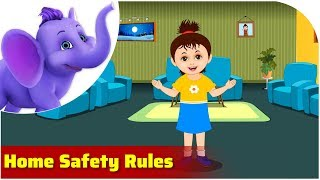 Home Safety Rules | Safety Rule Songs | 4K | Appu Series