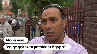 EGYPTE: President Morsi herdacht in Nederlandse moskeeën