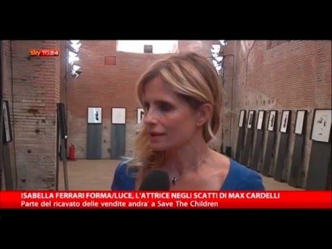 Isabella Ferrari Forma/Luce, l'attrice negli scatti di Max Cardelli