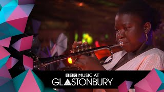 KOKOROKO Perform Uman In Acoustic Session At Glastonbury 2019