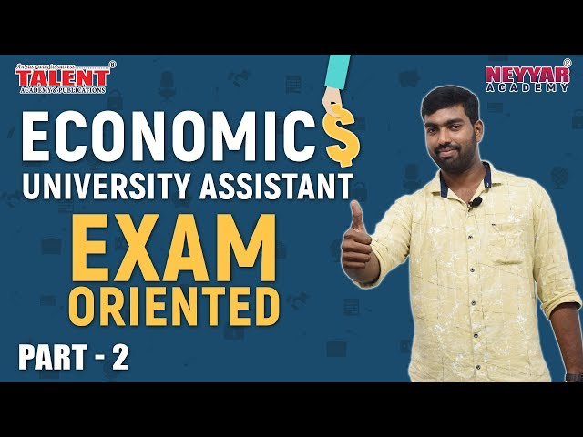Most Expected Economics Questions for University Assistant Exam