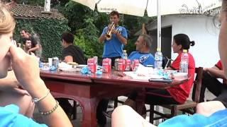 preview picture of video 'El Conquistour - Sardinada en Zarautz'