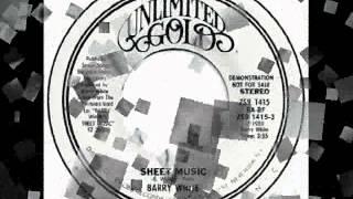 Barry White - Sheet Music (Instrumental)