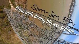 Fpv diving the tallest pylon in Europe