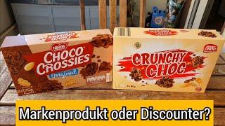 Choco Crossies gegen LIDL | Markenprodukt oder Discounter? | Test | FoodLoaf